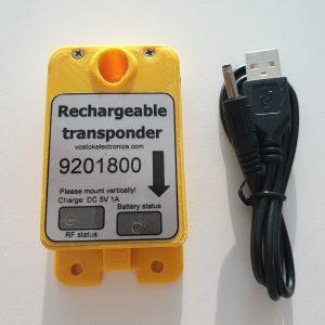 ID025 Rechargeable Transponder for Kart